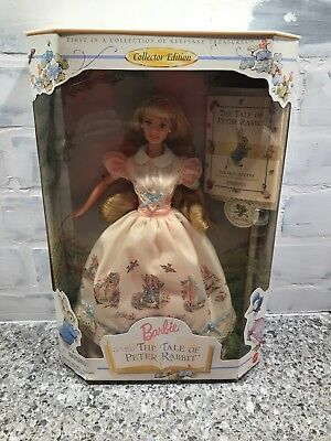 Barbie Doll and The Tale of Peter Rabbit Collector Edition 1997 brand new in box