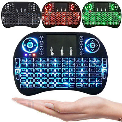 2.4G Backlit Wireless Touchpad Mini Keyboard Air & Mouse For PC Android TV Box