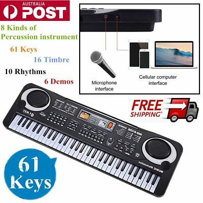 2017 61 Keys Children Musical Instrument Electronic Piano Keyboard 16 Timbre FG