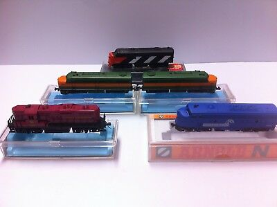 Five new N Gauge engines, Atlas GP9, FA1x2, Arnold, Bachmann