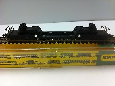 N Gauge 6 axle depr center load car.