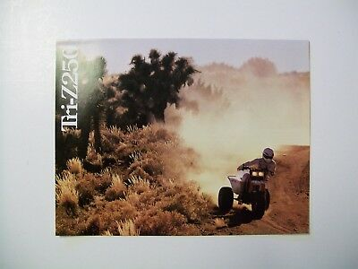 1986 YAMAHA TRI-Z  Sales literature/ Sales brochure (NEW--not a repro)