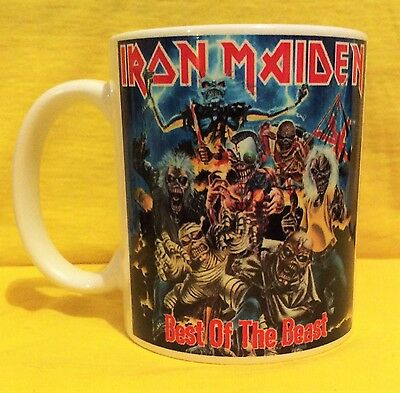 Iron Maiden Best Of The Beast 1996-Album Cover-On A Mug