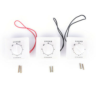 1pc 220V 30/60/120Min Time Countdown Intelligent Timer Switch Control Socket sTU