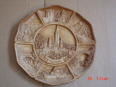 Pyrenees France Collectors Wall Plaque