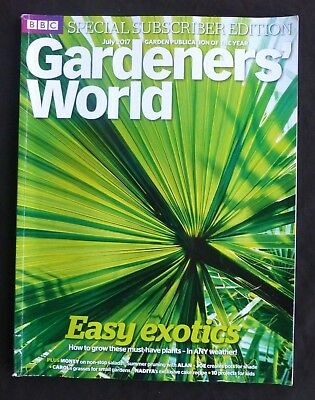 Gardeners World, July 2017,BBC, Subscriber Edition 10 Tropical plants for the UK