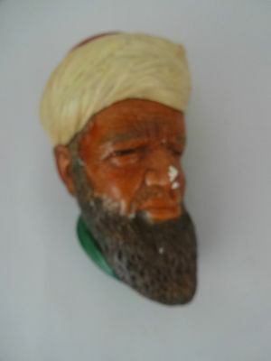 "Vintage Bossons Chalkware Figure Head - ""Caspian Man"" 5.5"" high"