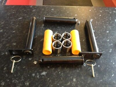 MINI DIGGER ARM and Bucket Repair Kit with Bushes, Boss and