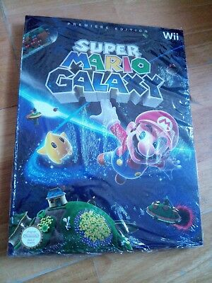 Super mario galaxy wii guide premiere edition neuf