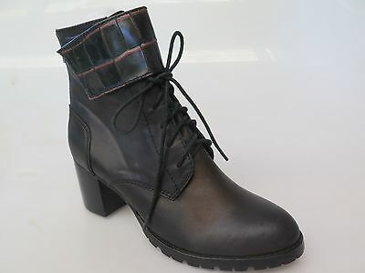Django & Juliette - new ladies leather ankle boot size 37 #180 *FINAL CLEARANCE*