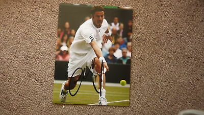 RUSSIAN TENNIS STAR MARAT SAFIN HAND SIGNED 8x6 INCH PHOTO