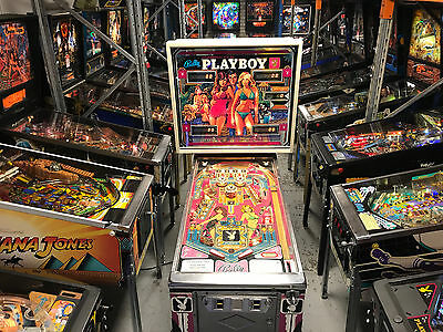 Playboy Pinball Machine Bally 1978 Original Pinballking Mr King Of Pinball