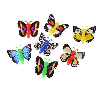 2Pcs/set Plastic Ejecting Flying Butterfly Outdoor Magic Trick Toys Kids Toy IY