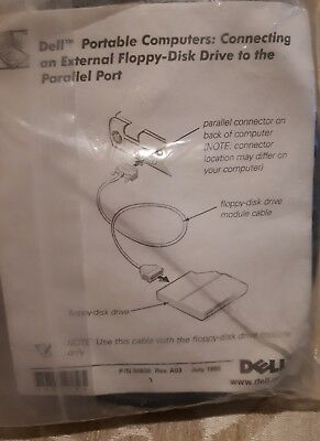 Dell, Portable Computers: Connect an External Flop-Disk to the Parallel Port