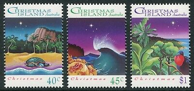 Christmas 1993 - Mnh Set Of Three (Bl331-Rr)