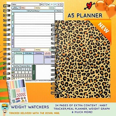 Food Diary WEIGHT WATCHERS Points Journal Planner Book 3mth Diet /One in a Melon
