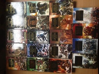 Horus Heresy Collection 19 different books excellent condition black library,40k