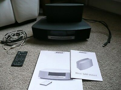 bose wave music system with DAB radio module complete with remote control