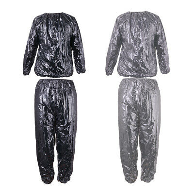 Sauna Suit Heavy Duty Sweat Gym Training Fitness Exercise Weight Loss Slimming