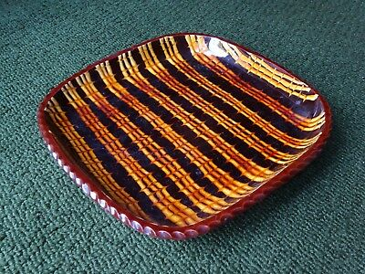 Early John Pollex Studio Pottery Combed Slipware Dish