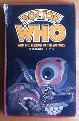 Doctor Who And The Terror Of The Autons W.H.Allen hardback book 1981