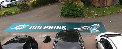 Souvenir NFL London Wembley Miami Dolphins Vs New Orleans Saints Game Banner
