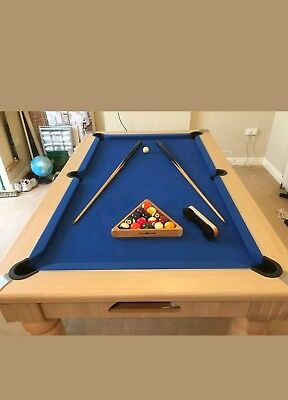 Slate Bed Dining Pool Table