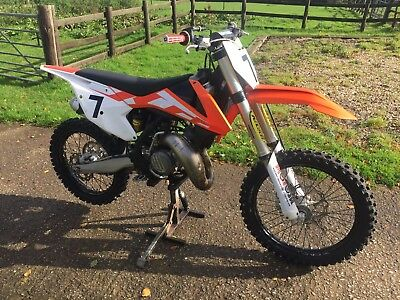 KTM 125 sx 2016, Low hours ** UK Delivery**
