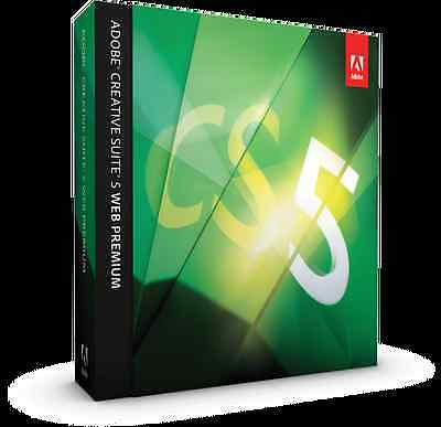 ADOBE Photoshop CS5 Extended + Illustrator CS5.5 +++ MAC deutsch Voll BOX MWST