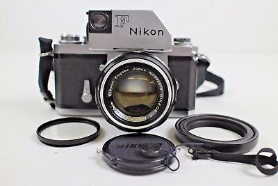 Nikon F Body + Nikkor-S Auto 50mm f/1.4 Lens In excellent condition