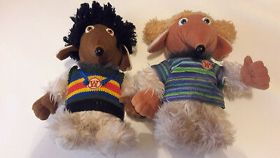 2 x Wombles of Wimbledon Soft Cuddly Toys. From First Love, 1998. Approx 27cm
