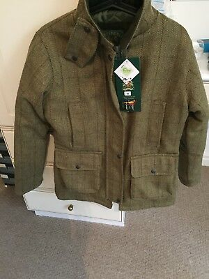Tweed Shooting Coat women's size 10 to 12
