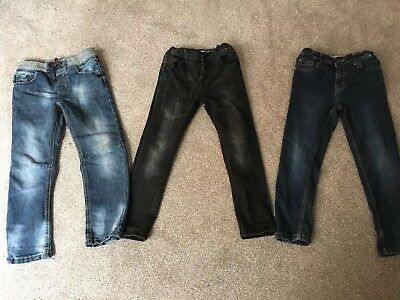Bundle 3 Pairs Boys Jeans Age 7-8