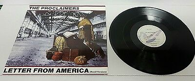 The Proclaimers – Letter From America (Band Version) - UK - 1987