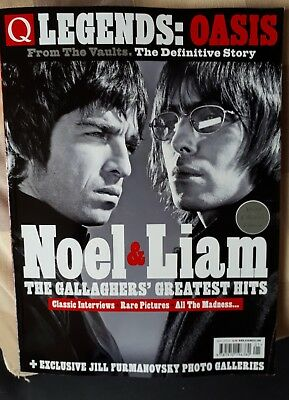 Oasis Noel Liam Q Legends Magazine Special Collector's Edition 2017