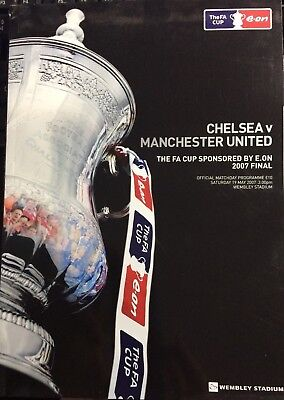 2007 FA CUP FINAL CHELSEA v MANCHESTER UNITED - 1st Final at New Wembley