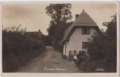 Rp Furneux Pelham Hertfordshire Real Photo Dated 1921