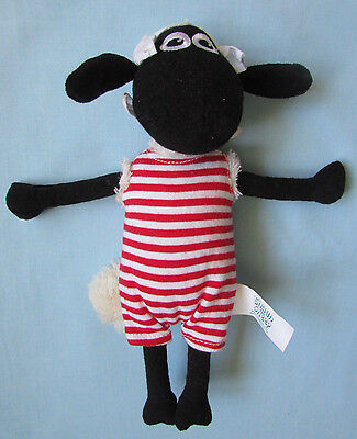 "Fab 9"" Aardman *shaun The Sheep* In Swimsuit Plush Soft Toy"
