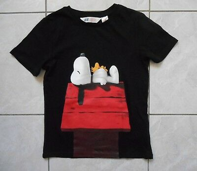 8 ans - TEE-SHIRT fantaisie MC H&M Peanuts Movie - Excellent état.