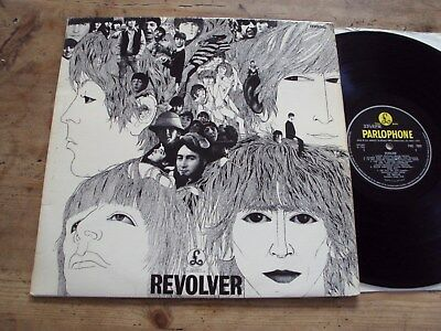 THE BEATLES - REVOLVER LP UK Original -2 -2 Parlophone PMC 7009 Doctor LOVELY!