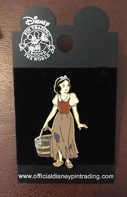 Disney Pin Snow White in Rags Very RARE and Hard to Find Badge Princess