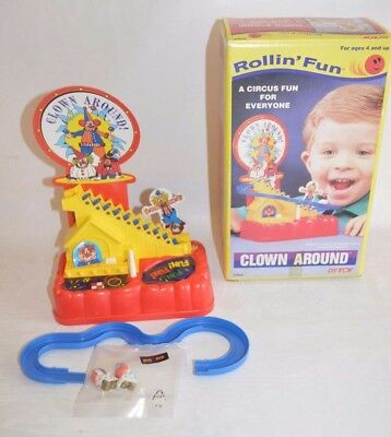 Rollin' Fun Clown around Neu Nos 1987 Dah Yang Toy unbespielt Fach B4