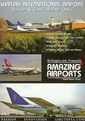 Sharjah Intl Airport - Russian & Classic Airliners DVD