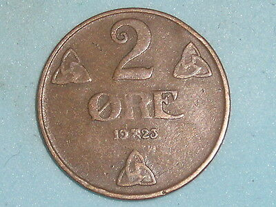 Norway / Norge 2 Ore 1923  (110