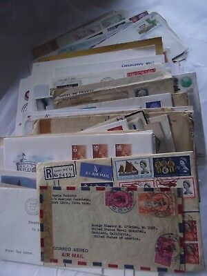 Job Lot (Mixed)  100+ FDCs and Covers - Various Ages, Countries & Topics(LOT D)