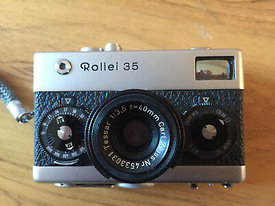 ROLLEI 35 TESSAR 40MM F3,5 (CARL ZEISS) madein germany