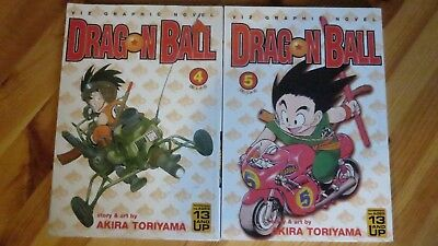 DragonBall Manga Volumes 4-5