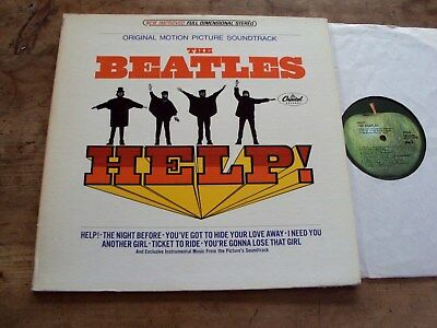THE BEATLES - HELP! LP APPLE USA Gatefold - SMAS 2386 SUPERB!