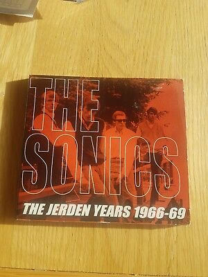 The Sonics - The Jerden years 1966-69 Cd