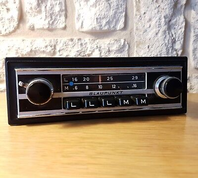 Autoradio ancien Blaupunkt Hambourg VW Beetle Karmann Ghia Golf Cox Rabbit
